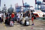 Kapal MV Costa Mediterania pulangkan 99 ABK melalui Tanjung Priok