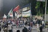 Tolak UU Omnibus Law, demo di Banten ricuh