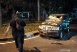 Aksi perusakan mobil polisi warnai pembubaran massa di DPRD Jabar