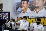 Paslon tunggal Adnan-Rauf di Kabupaten Gowa kampanye virtual