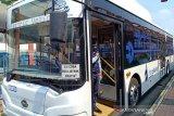 TransJakarta-Bakrie akui puas dengan hasil uji coba dua bus listrik