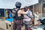 Polres Yahukimo gelar operasi yustisi pendisplinan prokes penggunaan masker