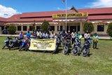 Polres Jayawijaya kembalikan 180 motor curian kepada pemilik sah