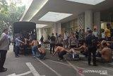Polisi amankan 177 pendemo omnibus law di Medan