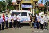 Pemkab Lamandau terima bantuan ambulans dan beasiswa dari BRI
