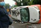 Polisi tetapkan dua tersangka dalam unjuk rasa ricuh di Palembang