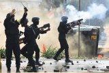 Polisi selidiki perusakan fasilitas umum oleh massa