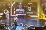 Gubernur Sulawesi Tengah raih Indonesia Awards 2020