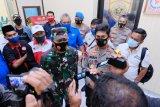 Di Makassar, Polisi amankan 220 pengunjuk rasa cipta kerja