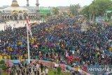 Polda Bengkulu tak bubarkan aksi demo untuk cegah kerusuhan