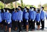 Upacara sumpah ASN Kota Kupang digelar dengan prokes