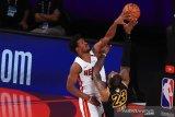 Heat paksa gim keenam final dimainkan usai atasi LA Lakers 111-108