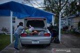 Warga Kota Lake Charles mulai tinggalkan kota di Louisiana demi hindari Badai Delta