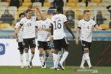 Jerman raih kemenangan perdana di markas Ukraina