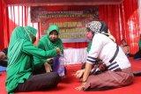 TMMD ke-109, Ketua Persit KCK XXX hadiri pelatihan pembuatan tas etnik Lampung