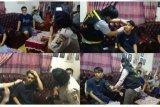 Polresta Bandarlampung kunjungi korban saat demo tolak UU Cipta Kerja
