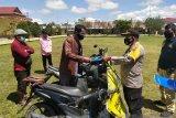 Polres Jayawijaya kembalikan 184 motor curian