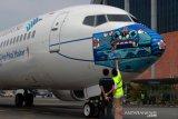 Garuda Indonesia dinobatkan maskapai penerbangan dengan prokes terbaik dunia