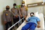 Tepis hoax, Kapolresta Pekanbaru lihat kondisi mahasiswa yang diisukan meninggal saat demo