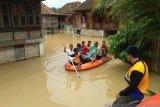 Puluhan rumah warga  Ogan Komering Ulu kebanjiran