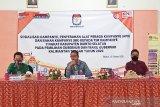 KPU Barsel lakukan uji petik DPS Pilgub Kalteng