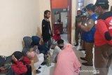Puluhan peminta-minta sumbangan di jalan raya Kota Palu terjaring razia