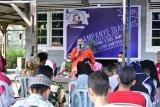 Kampanye dialogis dengan buruh KKBS, Kasmarni bahas BLK dan UU Ciptaker