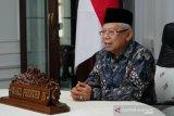 Wapres Ma'ruf Amin ajak pemuka lintas agama bangun koalisi perdamaian global
