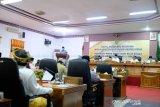Dihadapan DPRD, Bupati Natuna sampaikan progres pembangunan