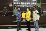 KPU Meranti tetapkan pasangan calon Bersabar usai sembuh dari COVID-19