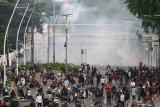 Polisi identifikasi penggerak pelajar dalam ricuh unjuk rasa tolak Omnibus Law