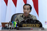 Setahun pemerintahan Presiden Jokowi-Ma'ruf, cepat dan sigap antisipasi COVID-19