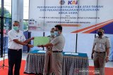 ATR/BPN Banjarnegara serahkan 17 sertifikat tanah kepada KAI