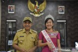Finalis Putri Cilik NTT temui Wali Kota Kupang