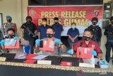 Polres Gumas berhasil ungkap kasus narkoba di tiga kecamatan