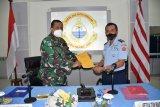 Itjen Kementerian Perthanan serahkan hasil Wasrik Lantamal VIII