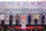 Waskita Sriwijaya Tol groundbreaking JTTS ruas Palembang-Betung, target rampung 2022
