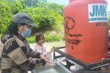 Peringati Hari Mencuci Tangan Sedunia, PKBI JMK OXFAM ajari anak-anak Donggala cara cuci tangan yang sehat