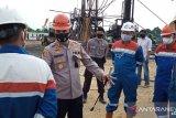 Sumur bor Pertamina di Jambi meledak, polisi turunkan tim