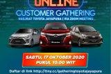 Online Customer Gathering  serentak seluruh cabang Hasjrat Toyota  17 Oktober 2020