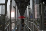 BMKG prakirakan semua wilayah di  Jakarta diguyur hujan