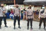 Polisi kawal kampanye Hidayat - Habsa Yanti Ponulele di Palu Timur