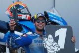 Rins mampu tahan gempuran Marquez untuk juarai GP Aragon