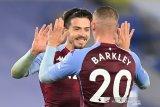 Klasemen Liga Inggris: Aston Villa  bersaing  dengan Everton di puncak