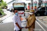 Pemprov Kalteng salurkan 2.214 ton bansos beras