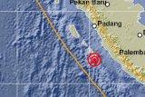 Mentawai diguncang gempa 5,7 Magnitudo tidak berpotensi tsunami