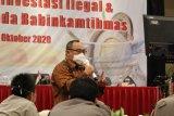 OJK Lampung bersama Babinkamtibmas kerjasama cegah investasi ilegal dipedesaan