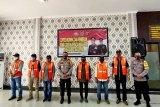 Polresta Palangka Raya berikan rompi kepada jurnalis peliput unras