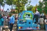 PDAM Jayapura bantu sarana air bersih pengungsi korban kebakaran