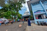 445 warga korban kebakaran Dok IX mengungsi di aula DPPAD Papua